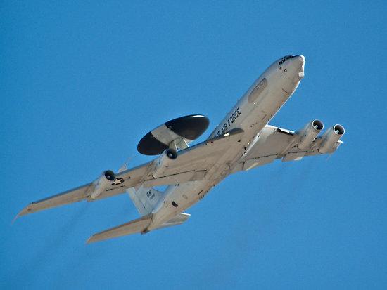Boeing E-3 Sentry (c) www.redbubble.com