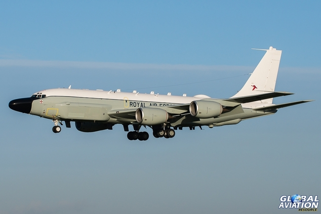 RC-135W Ривет Джойнт Королевский Воздушных Сил Великобритании