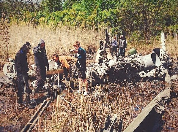 уничтоженный 5 мая Ми-24