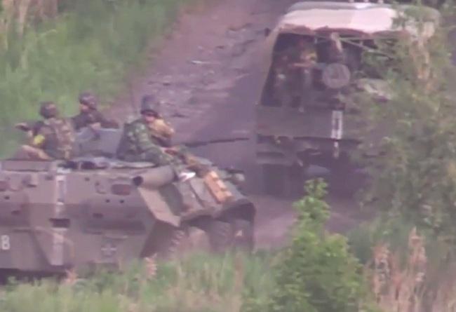 украиснкие военные в Александровском районе