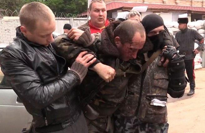 захваченный летчик Ми-24 ВС Украины
