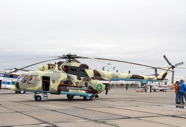 Ми-171Ш Пограничной службы Комитета национальной безопасности Республики Казахстан
