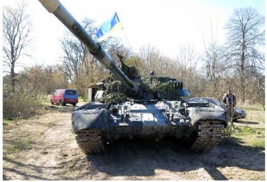 Т-80УД на Востоке Украины