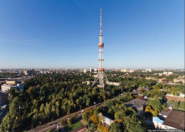 Телебашня в Киеве