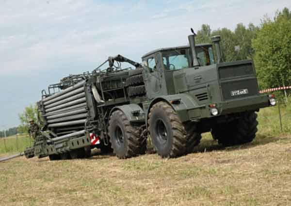 Подразделения трубопроводного батальона бригады материально-технического обеспечения (МТО)