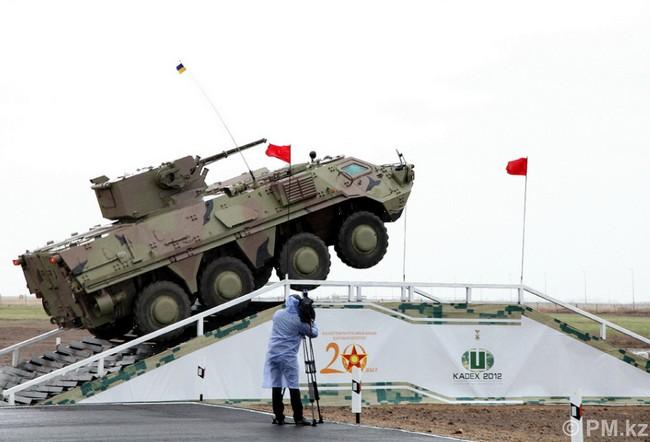 БТР-4 в Казахстане