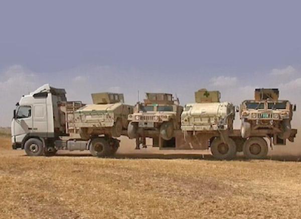 захваченная техника ВС Ирака