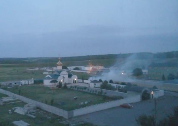 штурм воинской части погранслужбы Украины