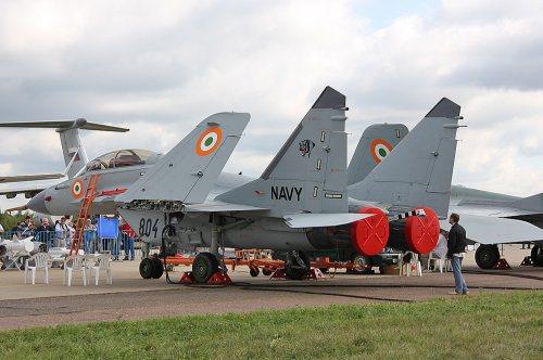 МиГ-29К ВМС Индии (c) blog.naver.com