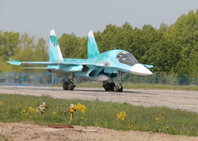 Один из трех переданных ВВС России  Су-34 (c) ОАО Компания Сухой