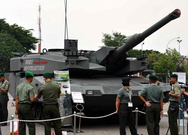Leopard Revolution на выставке Indodefence Еxpo в Джакарте