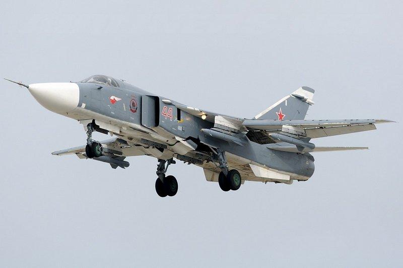 Фронтовой бомбардировщик Су-24М2