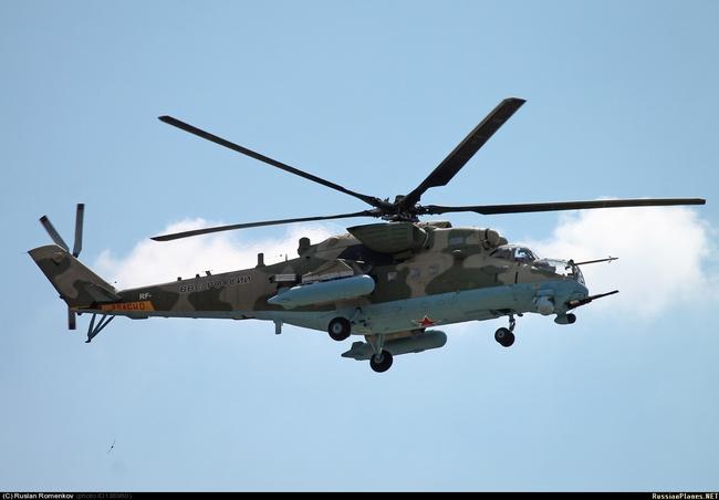 Ми-35М (c) russianplanes.net Руслан Роменков