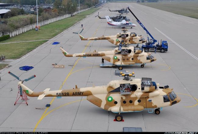 Ми-17-В5 ВС Пакистана (c) www.airliners.net