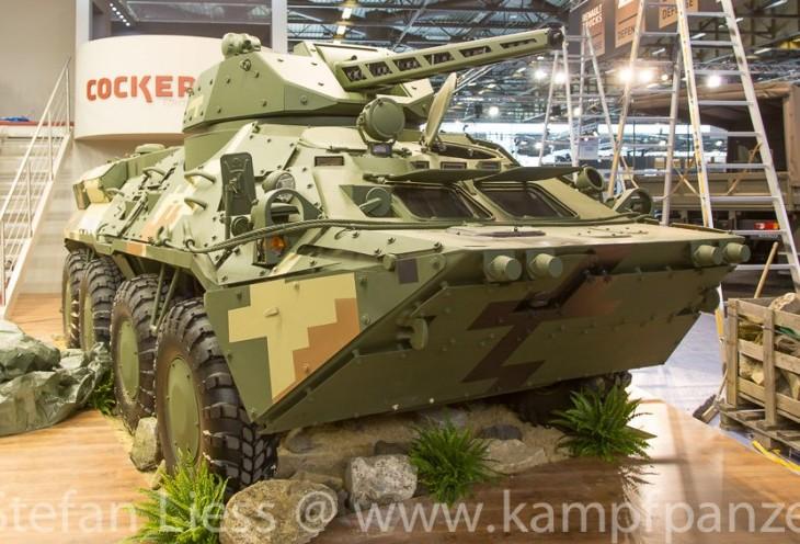 БТР-3 на выставке EUROSATORY 2014