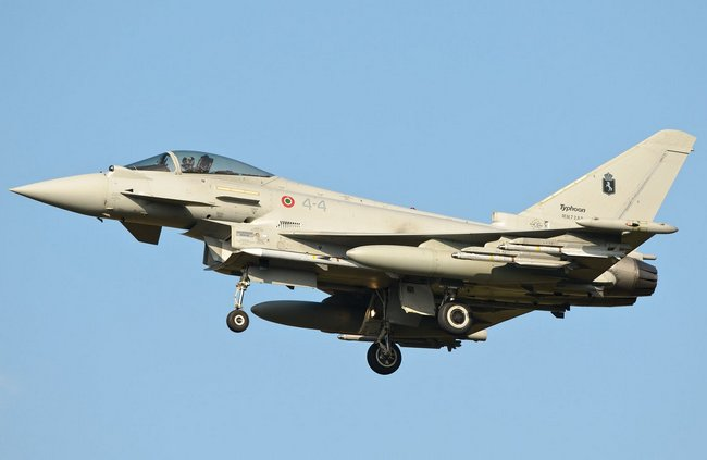 Eurofighter Typhoon ВВС Италии (c) airforcephotos.blogspot.com