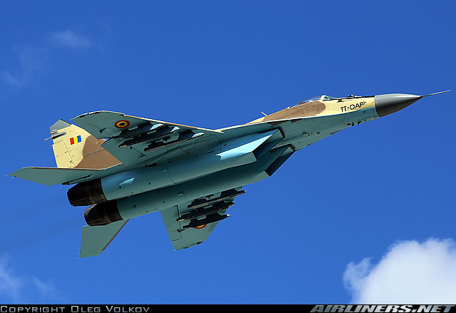 МиГ-29 ВВС Чада (c) фото Oleg Volkov
