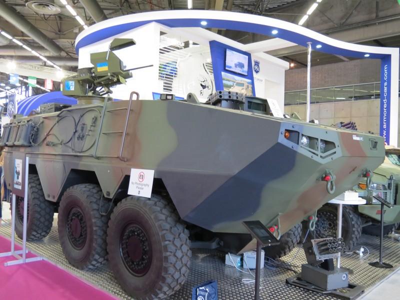 БТР Varan 6×6 с украинским боевым модулем Сармат