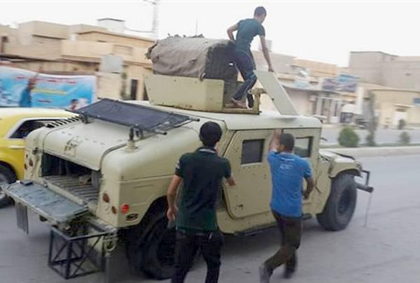 Трофеи боевиков ИГИЛ