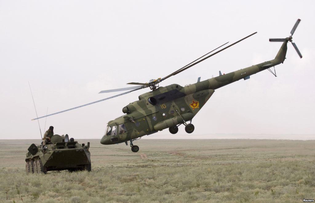 Ми-17 ВС Казахстана