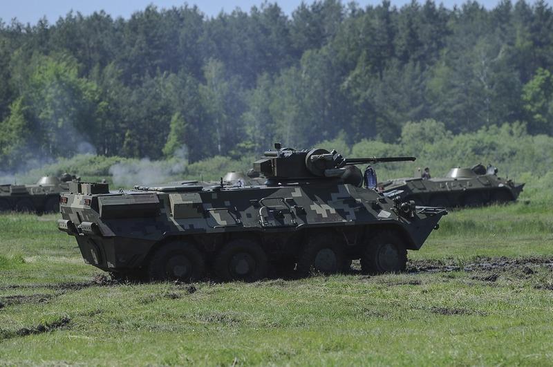БТР-3Е1 Национальной гвардии Украины