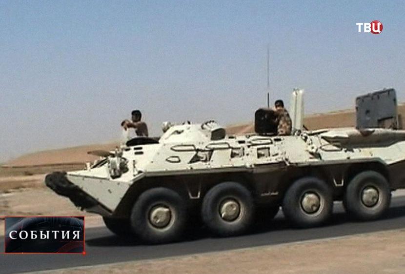 захваченный БТР-80УП  ВС Ирака
