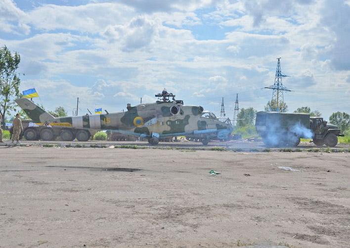 Эвакуированный Ми-24