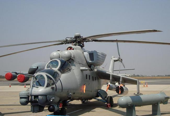 Ми-35 ВС Индии