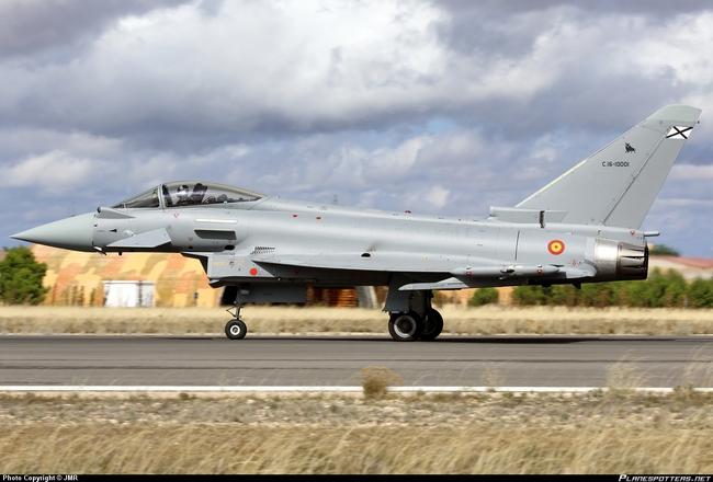 Eurofighter ВВС Испании