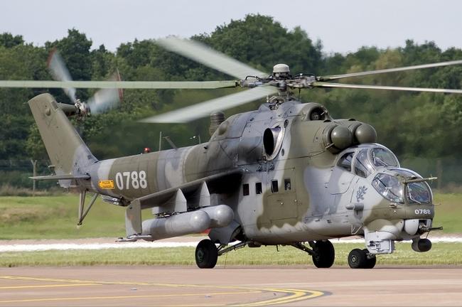 Ми-24В ВС Чехии (c) Russavia