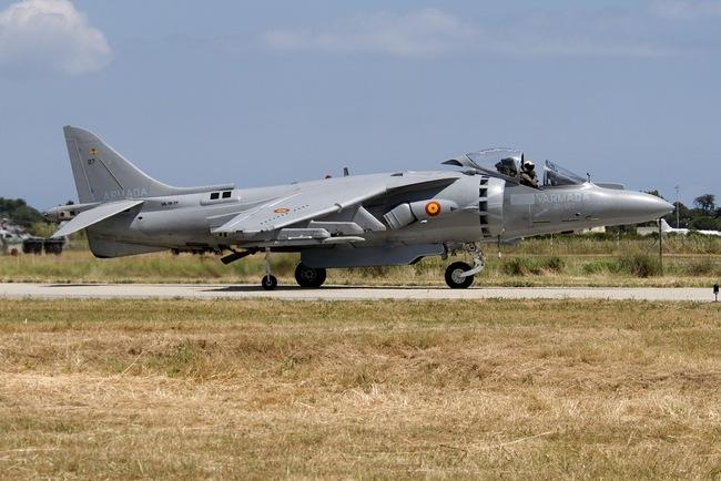 EAV-8B «Харриер» ВМС Испании (c) www.cavok-aviation-photos.net