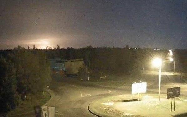 момент падения самолета Ил-76