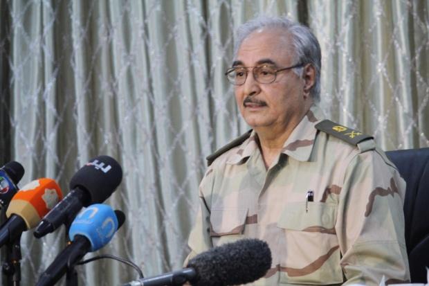 Мятежный ливийский генерал Хафтар