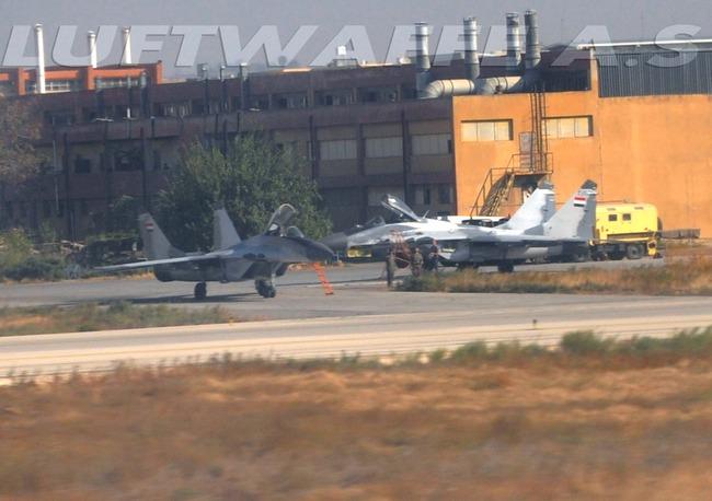 МиГ-29 ВВС Сирии (c) luftwaffeas.blogspot.com