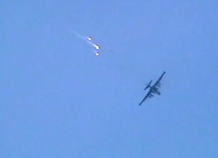 Су-25 в арйоне Красного Лимана