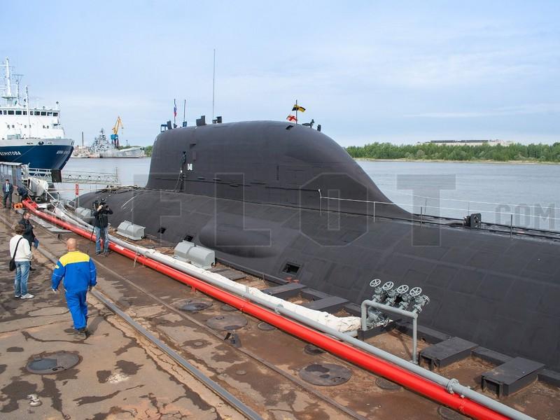 АПЛ Северодвинск принята в состав ВМФ России (c)flot.com