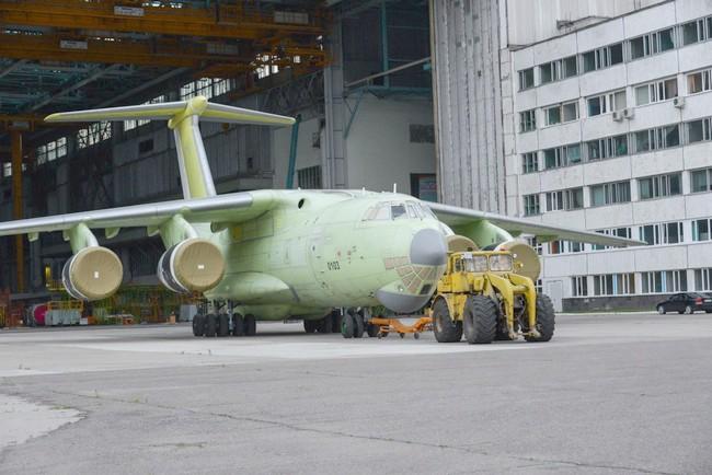 первый серийный Ил-76МД-90А