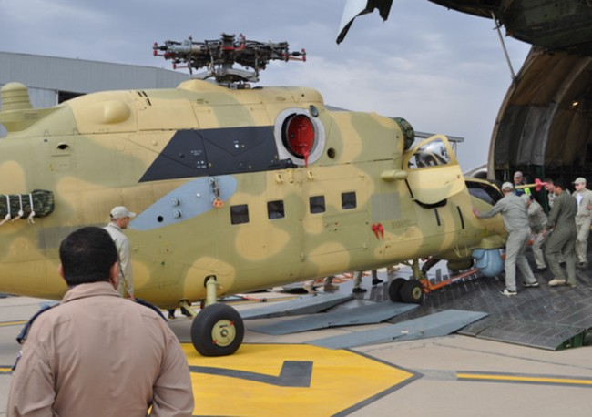 Ми-35 ВС Ирака (c) Defence blog