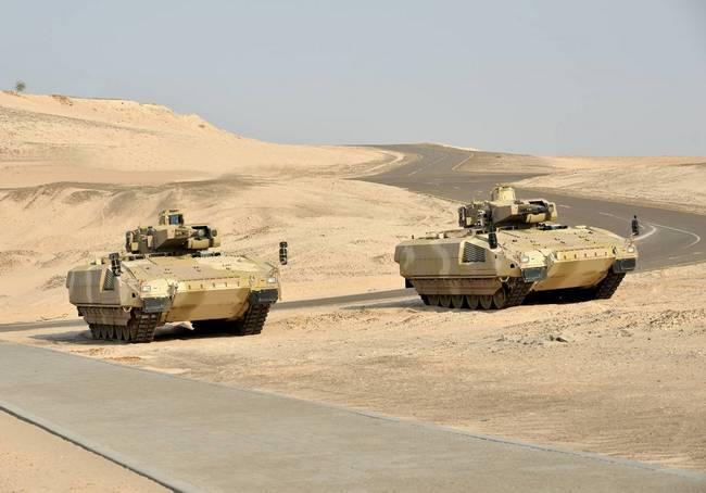 БМП Puma  ВС Германии на испытаниях