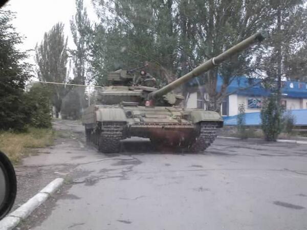 Т-64БВ в Снежном