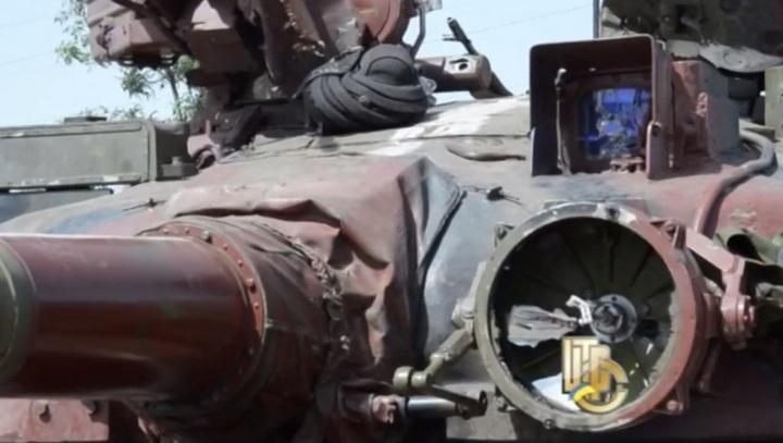 Т-64 ВС Украины после боя