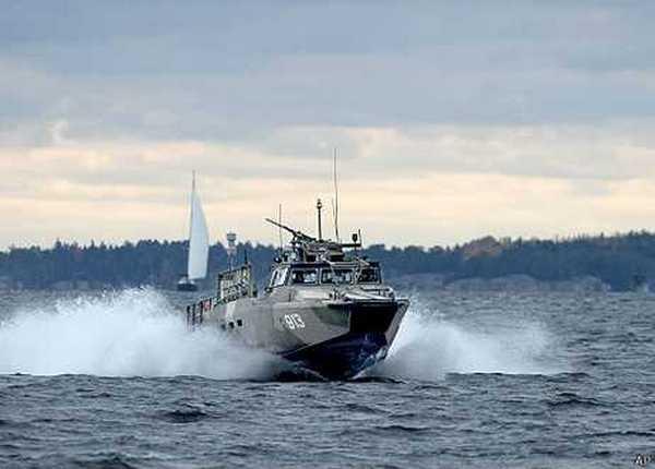 поиск русской подводной лодки в швеции