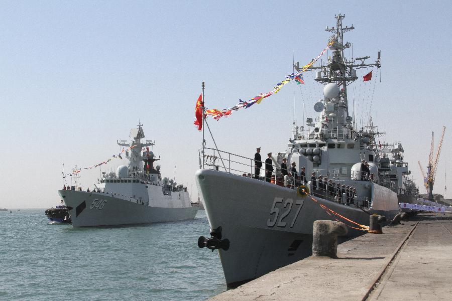 ВМС Китая в Намибии