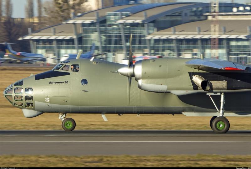 Ан-30 ВС Украины (с) Виталий Несенюк