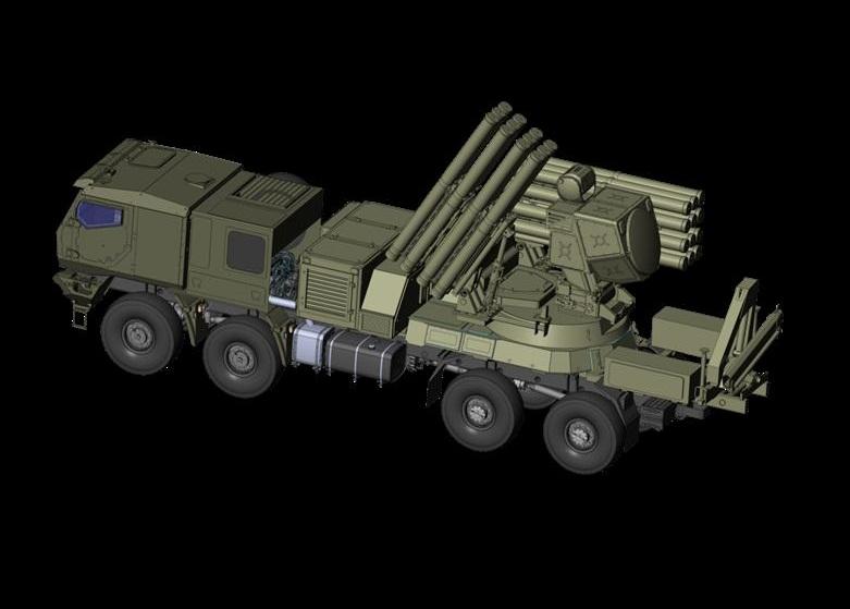 транспортная боевая машина - Панцирь-СМ