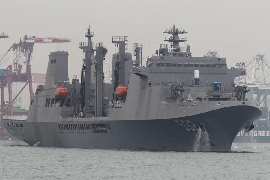 большое судно комплексного снабжения AOE 532 Panshi