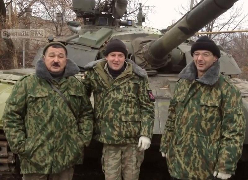 захваченный ранее Т-64БМ Булат