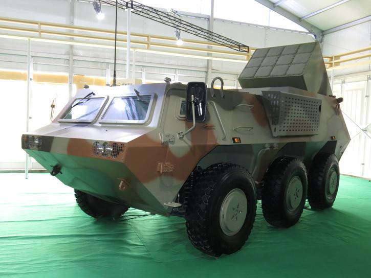 тактический ракетный комплекс PA01-GA