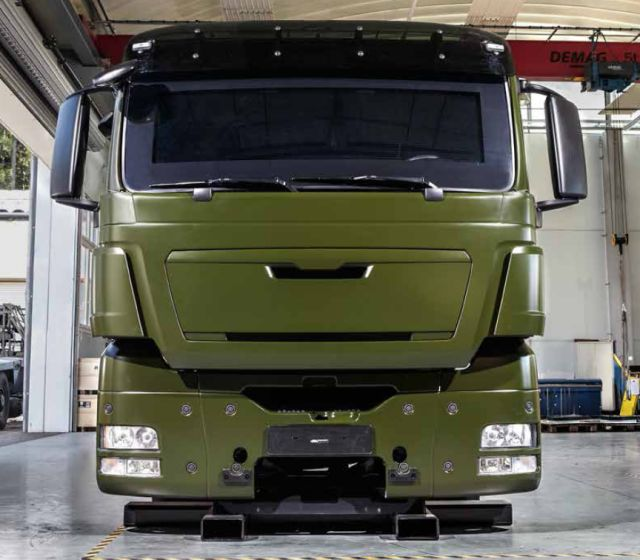 protection concept for logistic vehicles