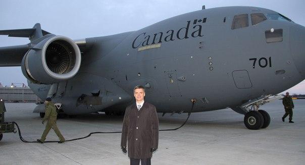 Помощь от Канады для украинских военных